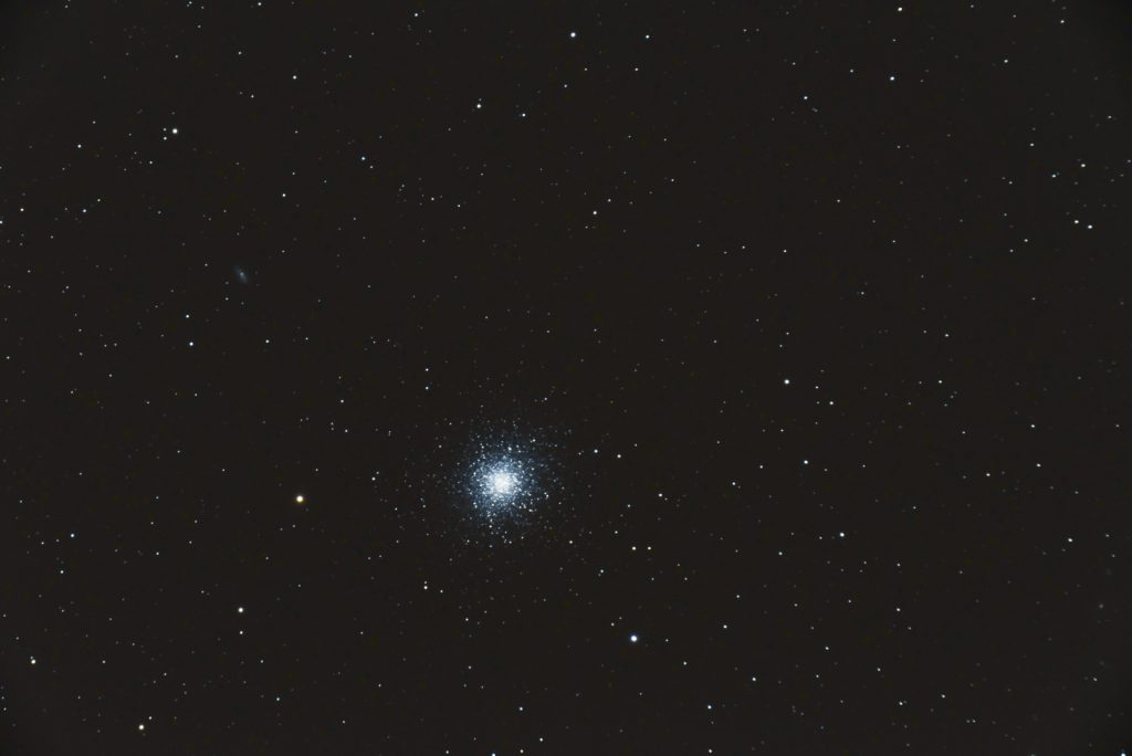 M13, 26x30s, ISO 3200, Nikon D750, Astro-Physics 127mm f/8, JPEG, not flats, dark or bias