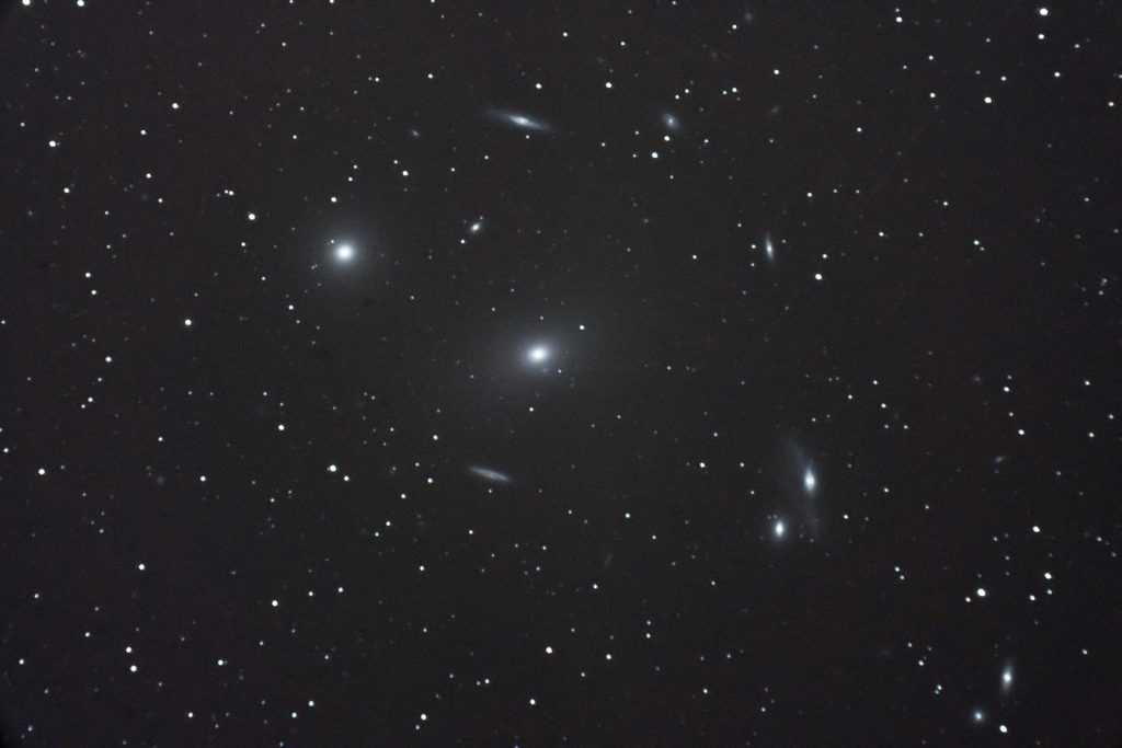 Markarian's chain, region around M86, 7x120s, Nikon D750, 1600 ISO, Astro-Physics 127mm f/8