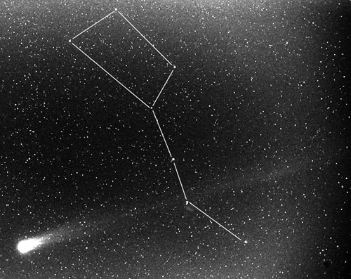 comet Hyakutake