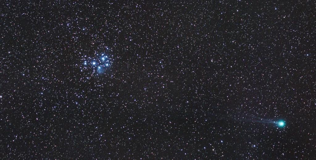 C/2014 Q2 Lovejoy and M45 - the Plejades