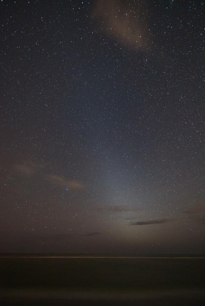 Zodiacal Light, 30s, f/3.5, ISO 3200, Samyang 14mm, Nkon D750